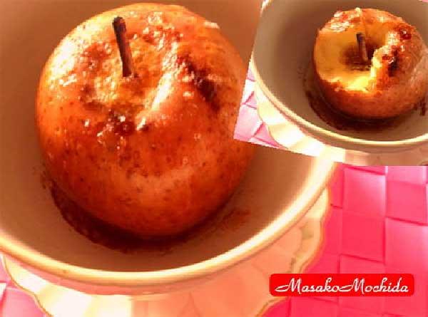 モッチーママの大和薬膳料理 第5回「旬のリンゴを焼いてみました♪」【喉を潤わせて風邪予防や目のトラブルに効果的!】(大和薬膳料理研究家 餅田雅子)