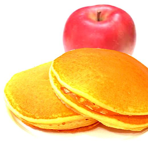 モッチーママの大和薬膳料理 第21回「ぷっくりパンケーキのりんごジャムサンド♪」【利尿作用、高血圧、皮膚乾燥、美肌に効果的】(大和薬膳・薬草料理研究家 餅田雅子)