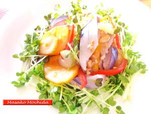 ◆モッチーママの大和薬膳料理◆第31回「脳梗塞、心筋梗塞に良い旬の秋刀魚と、セロリ、柿の辛子レモンカルパッチョ♪」