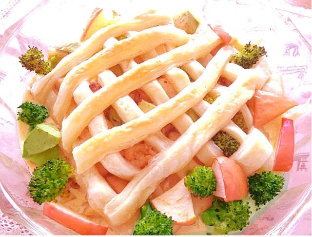 ◆モッチーママの大和薬膳料理 ◆第39回「◆疲労回復に鶏肉とリンゴ、ブロッコリーのごま風味パイグラタン♪」