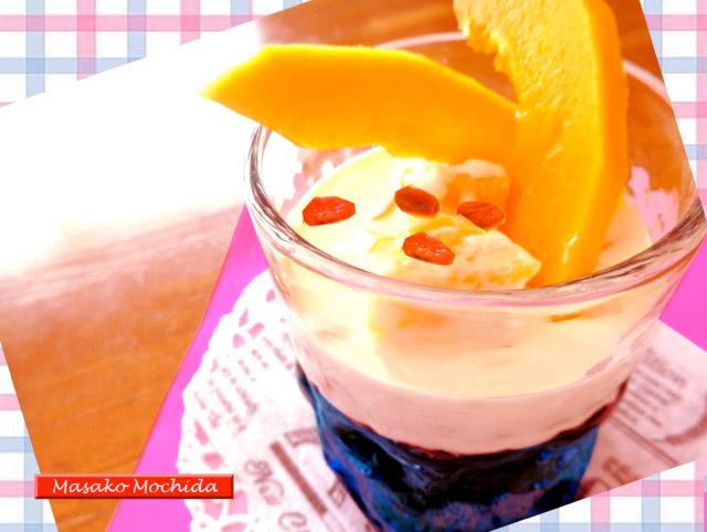 ◆モッチーママの大和薬膳料理 ◆第44回「◆美肌効果のジャスミンティゼリー!パパイヤ添え♪」