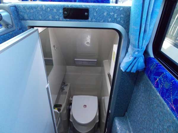 バスのトイレ